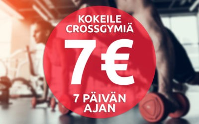 Kokeile 7 päivää 7€:lla!