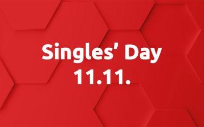 Singles Day – Kaikki -22% vain tänään!